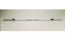 Gold's Gym Solid Chrome Olympic Bar